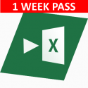 Auto Excel (1 week pass)