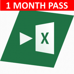 Auto Excel (1 month pass)